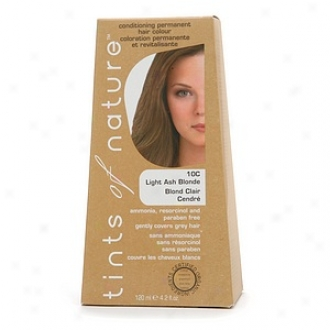 Tints Of Nature Cobditioning Permanent Hair Color, Light Ash Blonde 10c