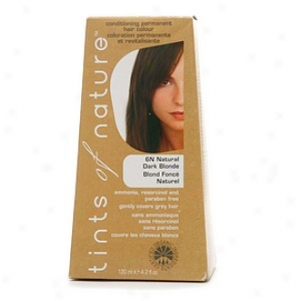 Tints Of Nature Confitioning Permanent Hair Color, Natural Ignorance Blonde 6n