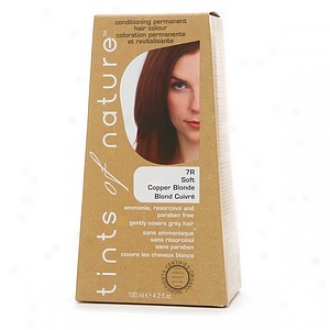 Tints Of Natural affection Conditioning Lasting Hair Color, Soft Copper Blonde 7r
