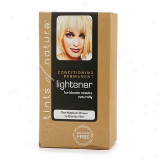 Tints Of Nature Conditioning Permanent Lighener For Blonde Results Naturally