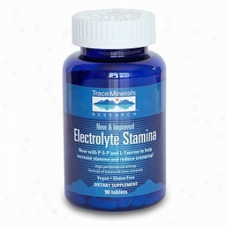 Trace Minerals Investigation Electrolyte Stamina, Tablets