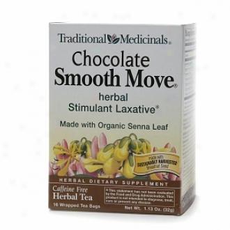 Traditional Medicinals Caffeine Free Herbal Tea, Chocolate Smooth Move