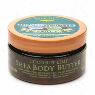 Tree Hut Coconut Lime Shea Body Butter With Coconut Lime Extracts