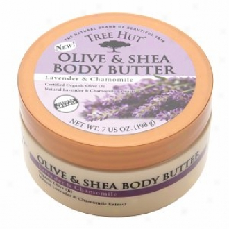 Tree Hut Olive & Shea Body Butter, Lavender & Chamomile