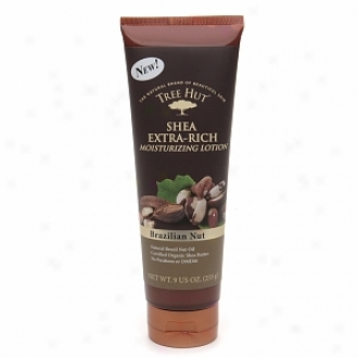 Tree Hut Shea Extra Rich Moisturizing Lotion, Brazilian Nut