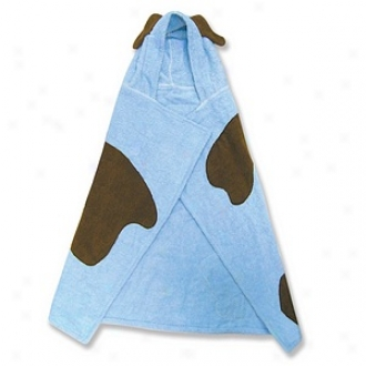 Trend Lab Character Hooded Towel And Wash Mitt, Blye Puppy