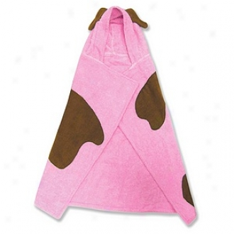 Trend Lab Character Hooded Towel And Wash Mitt, Pink Puppy