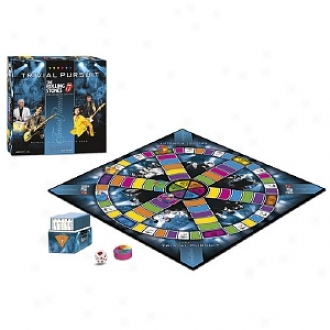 Trivial Pursuit Rolling Stones Collector's Edotion Ages 12 And Up