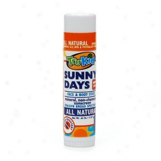 Trukid Sunny Days Mineral Sunscreen Face And Body Stick Spf 30+
