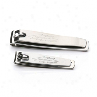 Tweezermaab Stainless Steel Nail Clipper Set For Cutting Fingernails And Toenails