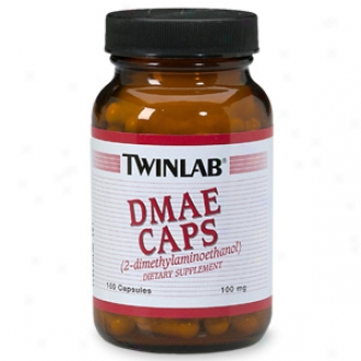 Twinlab Dmae Caps (2-dimethylaminoethanol), 100mg, Capsules