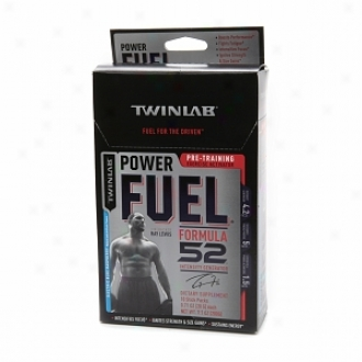 Twinlab Fuel Power Fuel, Formula 52, Kill Packs, Electric Blue Raspberry
