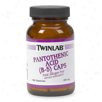 Twinlab Pantothenic Sour (b-5 )C aps, 500mg