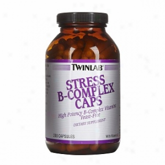 Twinlab Stress B-compled, Capsules