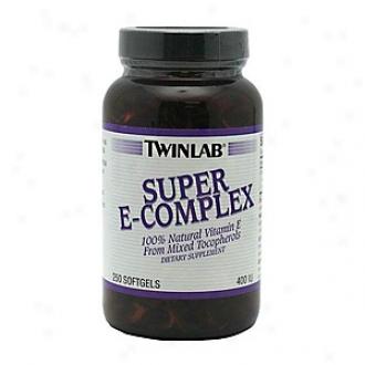 Twinlab Super E-coomplex, 400 Iu