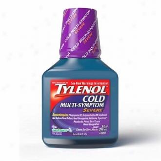 Tylenol Cold Multi-symptom Severe Daytime Mellifluous, Cool Burst