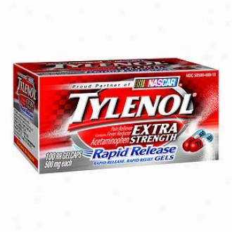 Tylenol Extra Strength Pain Reliever & Fever Reducer, Rapid Releasw Gels