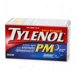 Tylenol Extra Strength Pm Geltabs, Extra Strength Pain Reliever & Sleep Aid