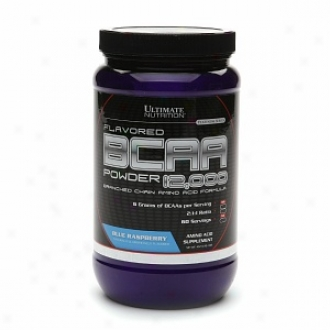 Ultimate Nutrition Bcaa Powder 12000 Branched Amino Acid Formula, Blie Raspbedry