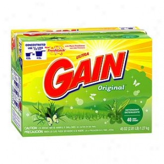 Ultra Gain With Freshlock Powder Detergent, 40 Loads, Original
