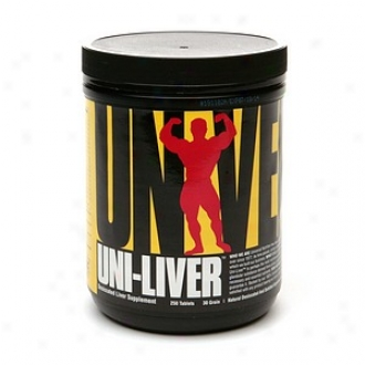 Universal Nutrition Uni-liver Deslccated Argentine Liver Supplement, Tablets