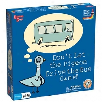 University Games Don't Let The Pigeon Prosecute The Bus Gamble Ages 3 And Up