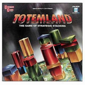 University Games Totemland The Game Of Strategic Stacking Ages 8+