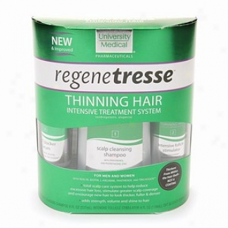 University Medical Regenetresse Thinning Hair Intensive Treatment System