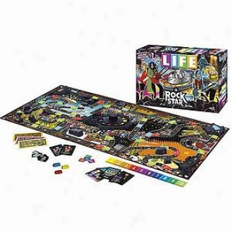 Usaopoly The Courageous Of Life Rock Star Edition Ages 9 And Up