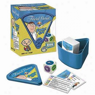 Usaopoly Trivial Pursuit The Family Guy Travel Edition Ages 12 And Up