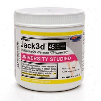 Usplabs Jack3d, Pre-exercise Cns-carnosine-atp Augmentor, Pineapple Strawberry