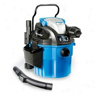 Vacmaster 5 Gallon 5 Horsepower Wall Mount Vacuum Model Vwm510
