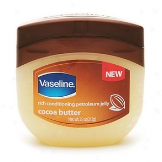Vaseline Rich Conditikning Petroleum Jelly, Cocoa Butter