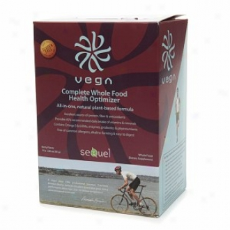 Vega Complete Whole Food Health Optimizer, Packets, Berry