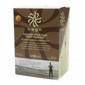 Vega Complete Whole Food Health Optimizer, Packets, Chocolate