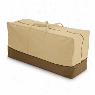 Verahda Collection Patio Cushion Storage Bag, Pebble, Bark And Earth