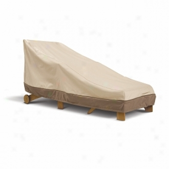 Veranda Collection Pato Day Chaise Cover Model 2, Pebble, Bark And Earth