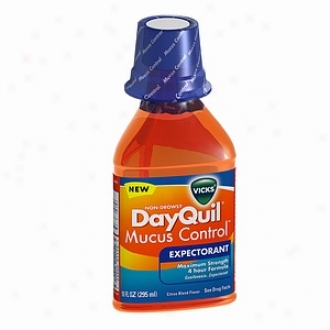 Vicks Dayquil Mucus Control Expectprant, Citrus Blend Flavor