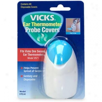 Vicks Onesecond Ear Thermometer Disposable Probe Covers