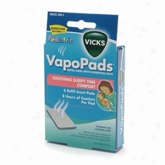 Vicks Pediatric Vapopads Refill, Soothing Sleepy Tim Comfort