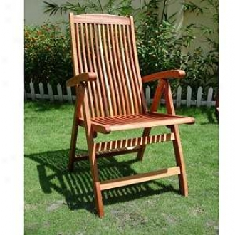 Vifah Vista Five Position Reclining Seat of justice Shorea Hardwood