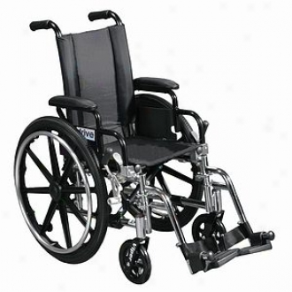 Viper Wheelchair Flip Back Removable Desk Arms Swingaway Foot