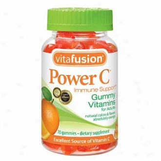Vitafusion Susceptibility C, Immune Support, Gummy Vitamins For Adults, Absolutely Orange