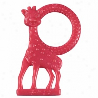 Vulli Sophie Giraffe Vanilla Teether Ring, Assorted Colors
