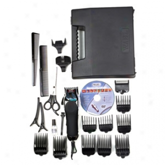 Wahl Cromepro Complete Haircutting Kit -24 Pieces 79524-500