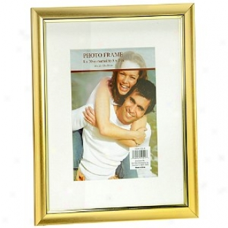Walgreens 8 X 10 Inch Matted To 5 X 7 Inch Photo Frame, Gold