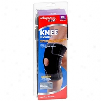 Walgreens Black Left/right Adjustagle Knee Stabilizer, One-size