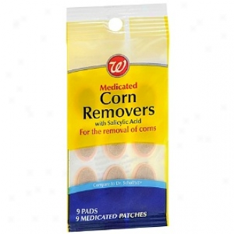 Walgreens Corn Removers With Salicylic Acid Pads And Patches