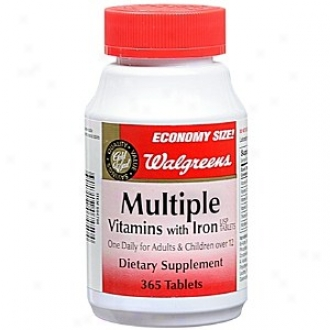 Walgreens Multiple Vitamins Through  Iron Diietary Supplement Tablets