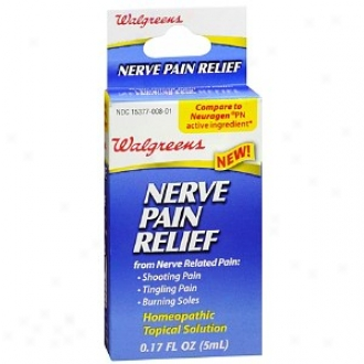 Walgreens Nerve Pain Relief Homeopathic Topical Solution